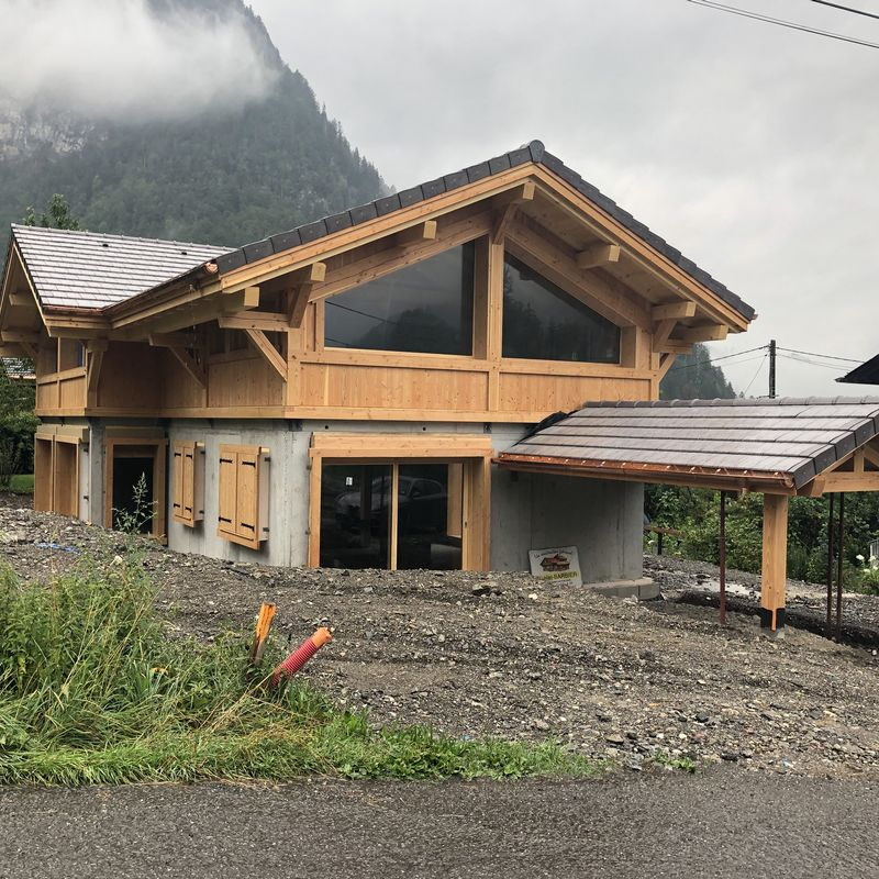 CONSTRUCTION OF A CHALET