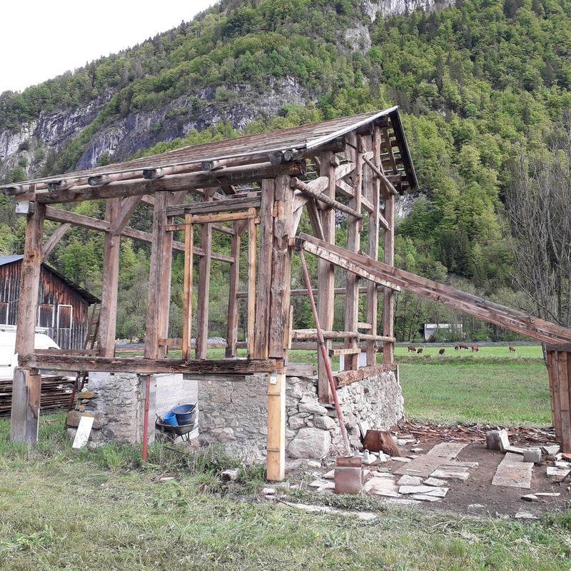 Renovation of a barn