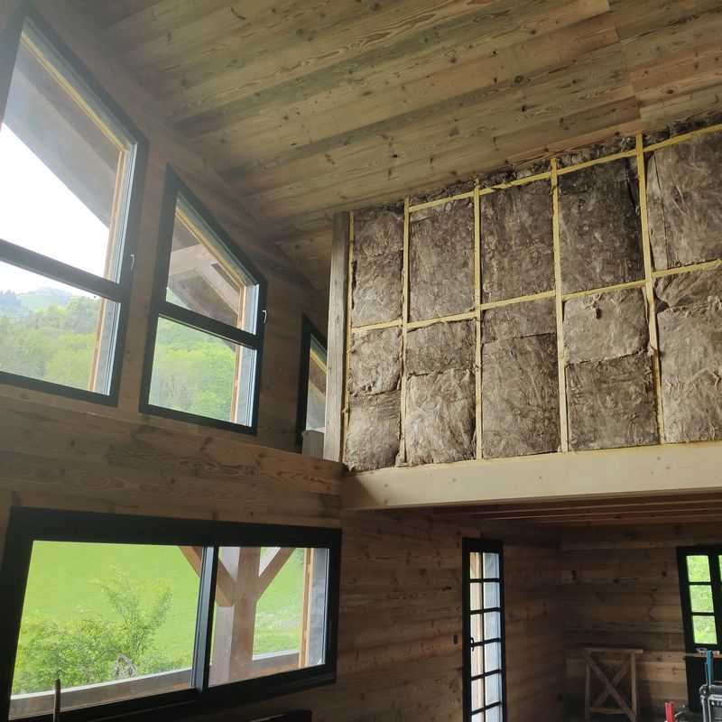 Modernization of a family chalet
