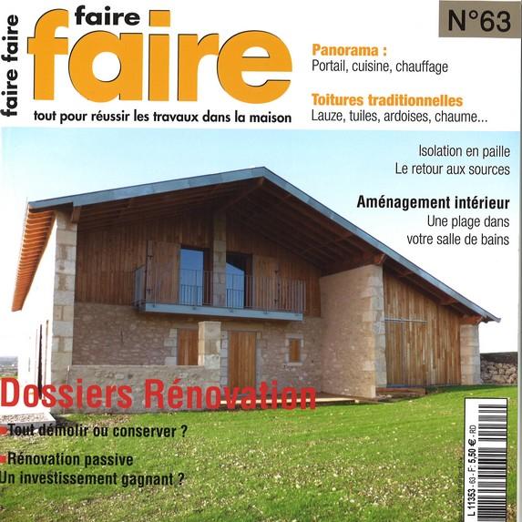 Magazine - Faire faire